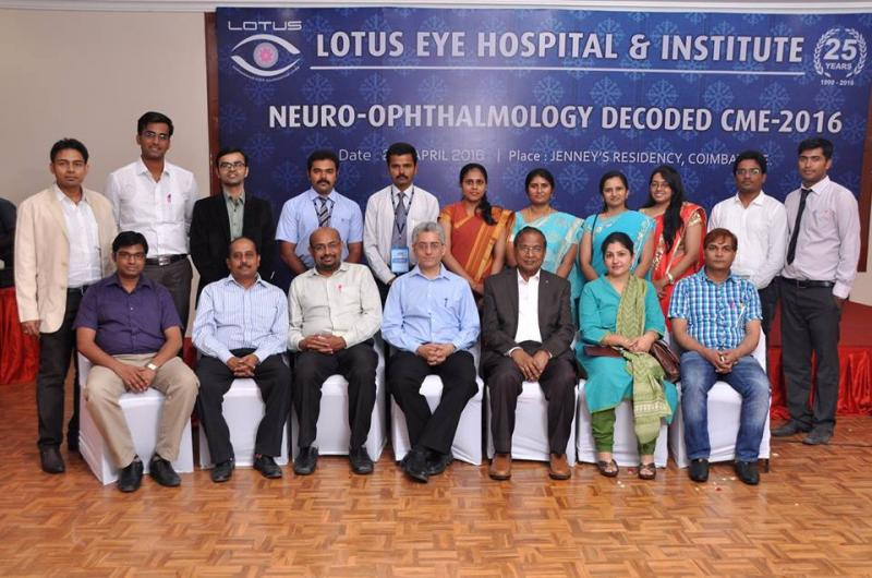 Organised NeuroDecoded 2016 at Lotus Eye Hospital, Coimbatore in May 2016